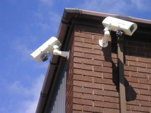 كاميرات مراقبة عالية الجودة مع ضمان سنة