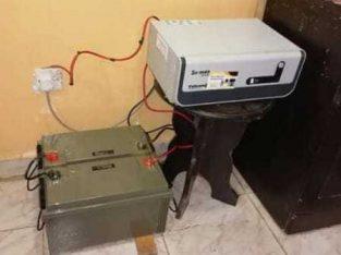 جهاز انفيرتر كهربائية وصل وصل