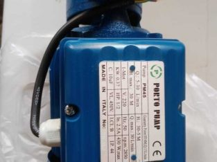 موتورات مياه بورتو الإيطالية ضمان سنة
